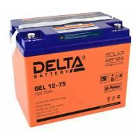 Аккумулятор Delta GEL 12-75