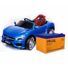 Почему производитель рекомендует аккумуляторы Delta серии HR для детских электромобилей?
